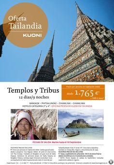 Tailandia: Templos y Tribus 12 días/9 noches desde 1.765 € + tasas ultimo minuto - http://zocotours.com/tailandia-templos-y-tribus-12-dias9-noches-desde-1-765-e-tasas-ultimo-minuto/