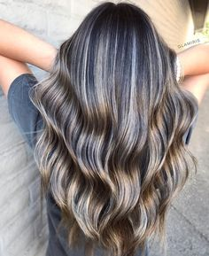 Got my client to a level using + incubated in foils, which is the only way to go when dealing with dark hair. Brunette Hair Color With Highlights, Brown Blonde Hair, Hair Highlights, Dark Hair, Brazilian Blowout, Hair Inspo, Hair Inspiration, New Hair Do, Pulp Riot Hair