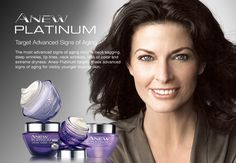 Avon ANEW Platinum targets deeps wrinkles. See more details here.