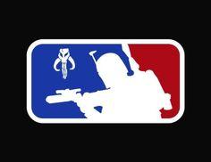 Major League Boba Fett Star Wars Vinyl Decal Sticker