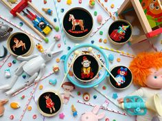 Nostalgic childhood brooches for sale