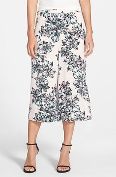 While it may be hot outside, my bus, office, and just about anywhere indoors seems to be unbearably cold. My savior this season has been a comfy pair of culottes by Chelsea28 — so much so that I'm grabbing another pair. This time, in a fun floral print ($78). — SS