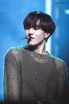 yugyeom | unbelievable... I've almost never seen a man smolder the way he can .....  It blows my mind..