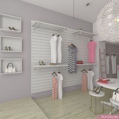 New clothes store design ideas boutiques Ideas Clothing Store Displays, Clothing Store Design, Boutique Interior Design, Boutique Decor, Lingerie Store Design, Store Layout, Retail Store Design, Store Interiors, Decoration