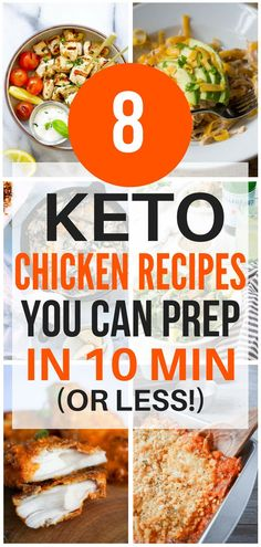 These keto chicken recipes are THE BEST! I'm so glad I found these new AWESOME ketogenic chicken recipes that only take 10 minutes to prepare! Now I have some great keto chicken dishes to eat on the keto diet. These keto chicken recipes are THE … Ketogenic Diet, Ketogenic Recipes, Diet Recipes, Healthy Recipes, Quick Recipes, Recipes Dinner, Snacks Recipes, Simple Recipes, Cheese Recipes