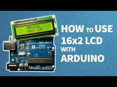 How to use 16x2 LCD with Arduino - YouTube