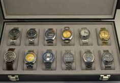 My collection of Seiko Chronographs, all from the 70's