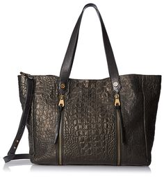 Joelle Hawkens Women's Chryssie Tote Bag, Black >>> Read more reviews of the product by visiting the link on the image.