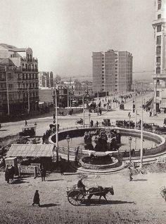 Glorieta de Cuatro Caminos,1925.Foto Alfonso.