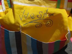 cotton colorful handmade bag named  Mexico READY TO SHIP by Vvesna,