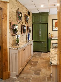Rustic Log Home - rustic - wine cellar - other metro - Mullet Cabinet Tv In Kitchen, Kitchen Ideas, White Fireplace, Living Room Shelves, Space Images, Amish Country, Bar Areas, Base Cabinets, Custom Cabinets
