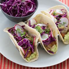 Refreshing all-natural fish tacos in our favorite tortillas!