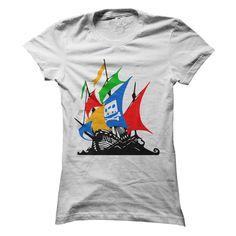 (Top Tshirt Deals) The Pirate Google [Tshirt Facebook] Hoodies Tee Shirts