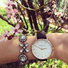 Jasmine Blossom Statement Bracelet #watches #style #flowerbracelet…