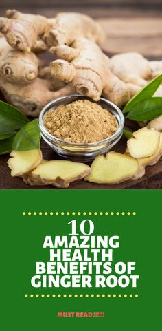 10 Amazing Health Benefits Of Ginger Root - The most extreme weight loss methods revealed Home Remedies For Sickness, Home Remedies For Fever, Home Remedies For Pimples, Top 10 Home Remedies, Home Remedy For Cough, Cold Home Remedies, Homeopathic Flu Remedies, Herbal Cold Remedies, Natural Remedies For Arthritis