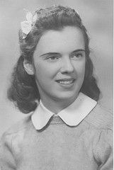 Mom's senior photo