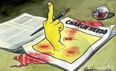 This image by The Independent's cartoonist Dave Brown, was retweeted by over 22,000 people including author J.K. Rowling