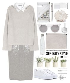 """""""Celebrate Our 10th Polyversary!"""" by palmtreesandpompoms ❤ liked on Polyvore featuring H&M, Helmut Lang, Maison Margiela, adidas, Alexander McQueen, Allstate Floral, Forever New, Kathryn McCoy Design, Drake General Store and The Hand & Foot Spa"""