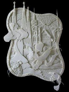 Pentru nonconformistul din tine!: Amazing paper art!