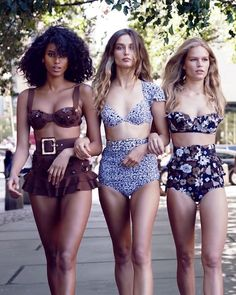 I won't let you down... - Could a girl have a truer friend than steadfast yet sultry Michael Kors? Carolyn Murphy, Imaan Hammam, Diaconu, and Ewers, show some skin with confidence.