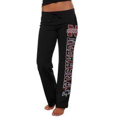 Nebraska Cornhuskers Ladies Frosh Fleece Sweatpants - Black