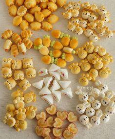 Fake food, sweets polymer clay kawaii