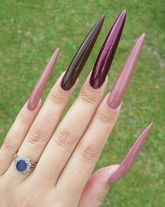 Nails of the day Long Fingernails, Long Nails, Nail Drawing, Claw Nails, Exotic Nails, Nails Only, Instagram Nails, Long Acrylic Nails, Stiletto Nails