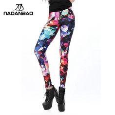 Nova Chegada Geométrica Boho Art Impresso leggins para As Mulheres leggings KDK1491