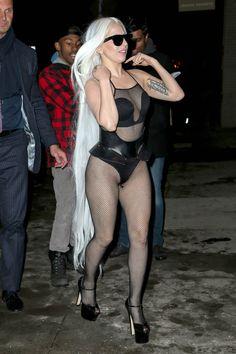 Lady Gaga for Jimmy Fallon show 2014