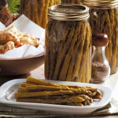 Sweet Pickled Asparagus Recipe - Taste of Home