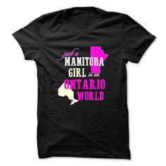 Manitoba Girl in An Ontario World ! - #tshirt recycle #sweatshirt zipper. CHECKOUT => https://www.sunfrog.com/States/Manitoba-Girl-in-An-Ontario-World-.html?68278
