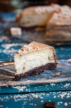 You can feel rich taste of tahini paste. I personally love the texture of halva pieces. This cheesecake would be perfect as a birthday cake! It's so tasty!