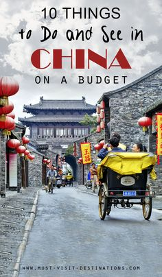 10 Things To Do And See In China On A Budget #china #budget