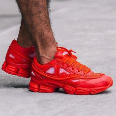 Raf Simons x adidas Ozweego 2: Red http://www.95gallery.com/