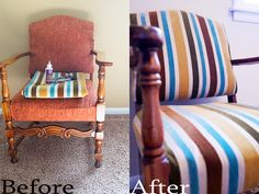 DIY: Corner Chair Recovery