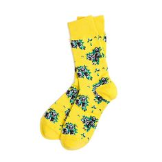 Richer Poorer Savant Socks - Yellow www.westgoods.co