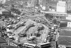 Largo da Batata em Pinheiros nos anos 80 (Acervo Prefeitura)