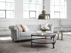 Köp NELLY 3-sits soffa tyg Holly sand 4 - Stort utbud hos EM.com
