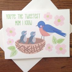 The sweetest Sweetest Mother's Day card you can send!