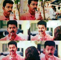 A rose milk story Ilayathalapathy Vijay, Handsome Celebrities, Rose Milk, Vijay Actor, Movie Pic, Crazy Fans, Actor Photo, Amazing Spiderman, Telugu Cinema