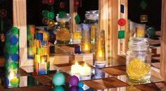 The magic of mirrors and LED lights - Zart Art Play Based Learning catalogue  ≈≈