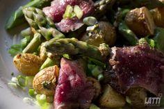 Marijke kookt: Lenteslaatje met mosterdvinaigrette
