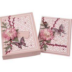 Card Making Magic The Christina Collection - Layered Florals die set - CraftStash Learn Card Tricks, Easy Magic Tricks, Gift Card Boxes, Magic Box, Different Flowers, Cardmaking, Paper Crafts, Creative, How To Make