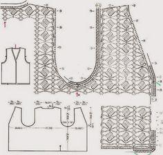 Todos los diseños, gráficos y patrones de armado son sacados desde la web; espero que disfruten de éste, el Arte del Tejer.