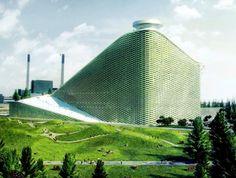 Indoor Ski Area and Waste Incinerator, Copenhagen, Denmark - Bjarke Ingels Group
