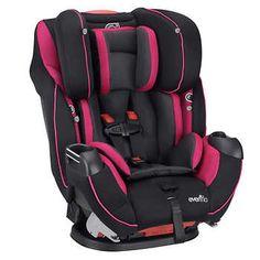 Evenflo® Symphony™ Elite Car Seat - Raspberry Sorbet