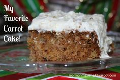 Mormon Carrot Cake and more of the best carrot cake recipes on MyNaturalFamily.com #carrotcake #recipe