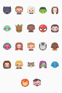 Marvel characters as Disney Emojis Marvel Dc, Marvel Comics, Marvel Memes, Die Rächer, Hulk, Marvel Drawings, Avengers Wallpaper, Steve Rogers, Comics