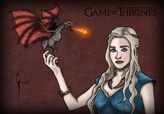 Daenerys Targaryen, Juego de Tronos.