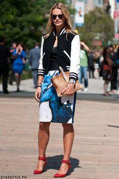 Si le quieres dar un toque especial a un outfit más formal y verte fashion, ponte tu jacket. Se ve espectacular